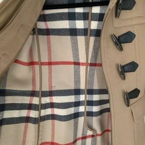 New without tag Burberry pea coat size 4